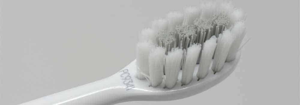 GLEEM toothbrush head close up