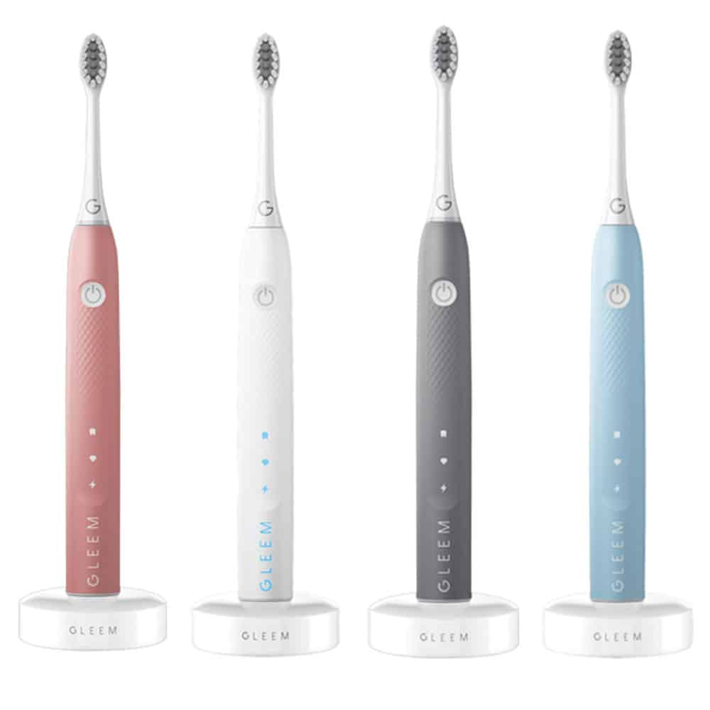 Color variants GLEEM toothbrush
