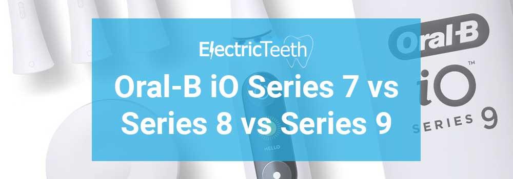 Oral-B iO Series Comparison Header Image