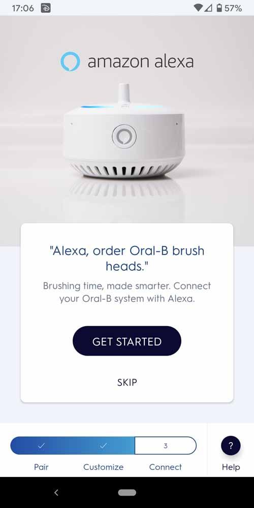 Oral-B Connect App Screenshot