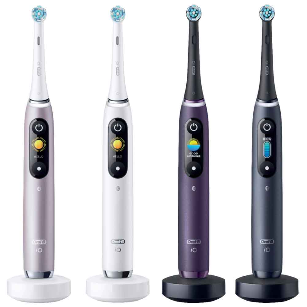 Oral-B iO Series color choices