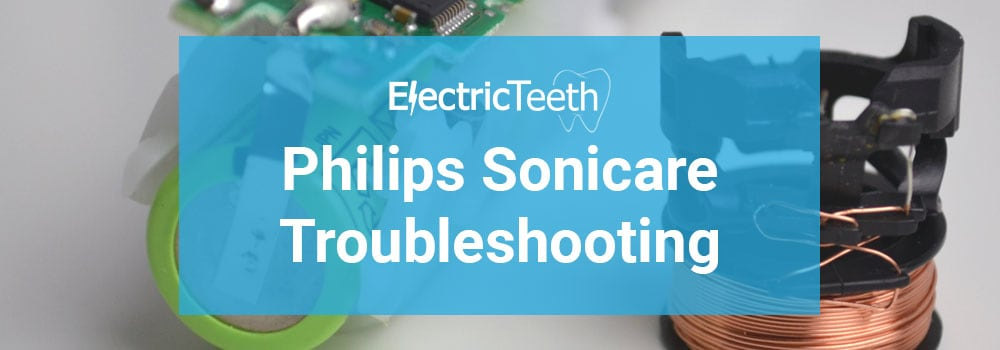 Philips Sonicare Troubleshooting Header Image