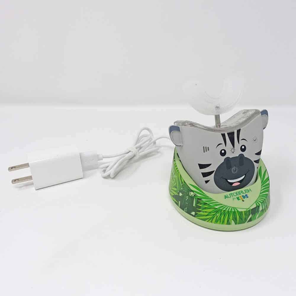 AutoBrush Kids in charging stand