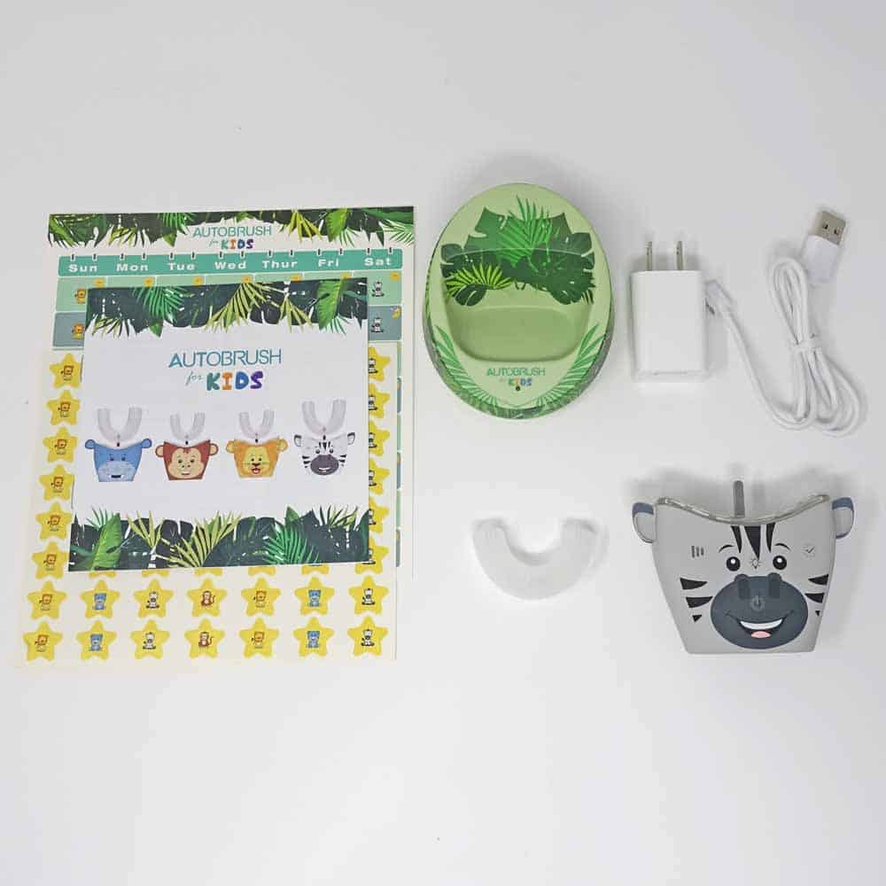 AutoBrush 4 Kids Box Contents
