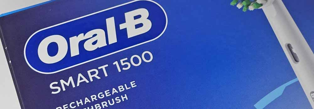 Oral-B Smart 1500 logo on box