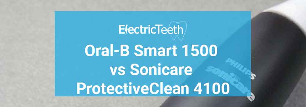 Oral-B Smart 1500 vs ProtectiveClean 4100