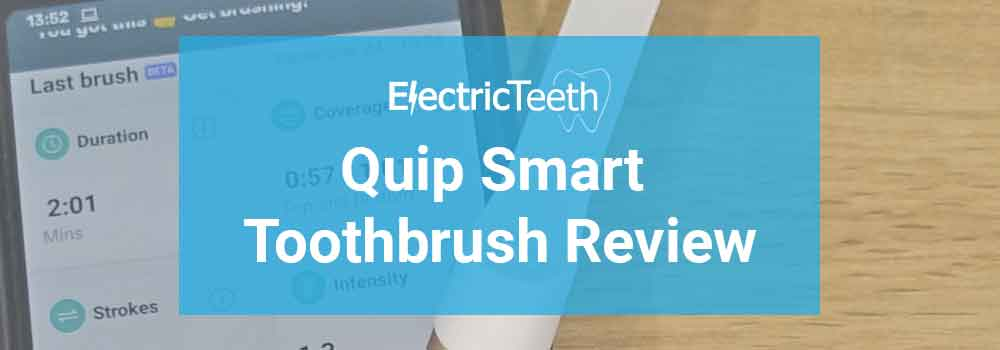 Quip Smart Toothbrush Review 1